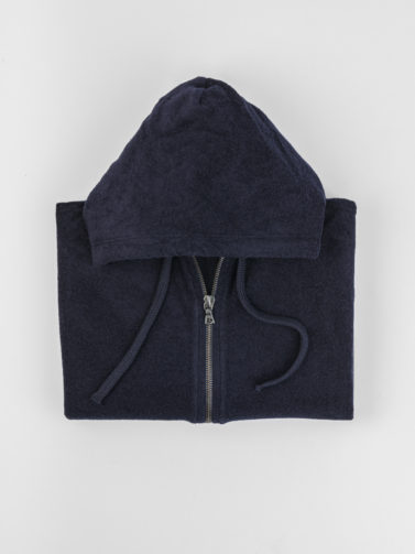 MAJESTIC FLORENCE NAVY CHENILLE SWEATER