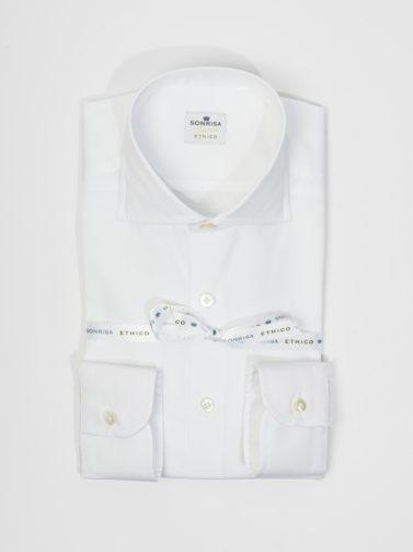 sonrisa firenze camicia ethico bianca