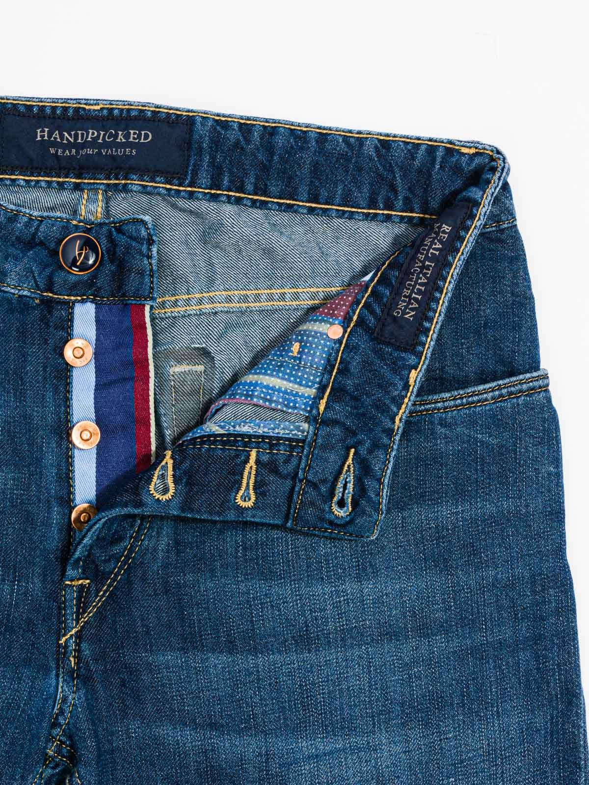 HAND PICKED FLORENCE FLAX DENIM