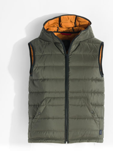 FAY FLORENCE GILET MILITARY GREEN